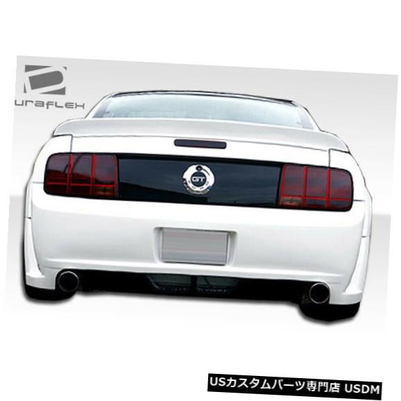 Rear Wide Body Kit Bumper 05-09フォードマスタングサーキットDuraflexリアワイドボディキットバンパー!!! 100654 05-09 Ford Mustang Circuit Duraflex Rear Wide Body Kit Bumper!!! 100654