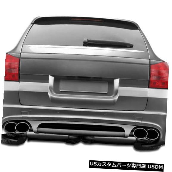 Rear Wide Body Kit Bumper 03-06ポルシェカイエンAF1エアロファンクションCFPリアワイドボディキットバンパー107576 03-06 Porsche Cayenne AF1 Aero Function CFP Rear Wi