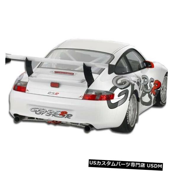 Rear Wide Body Kit Bumper 02-04ポルシェ996 GT3 RSR Duraflexリアワイドボディキットバンパー!!! 105409 02-04 Porsche 996 GT3 RSR Duraflex Rear Wide Body Kit Bumper!!! 105409
