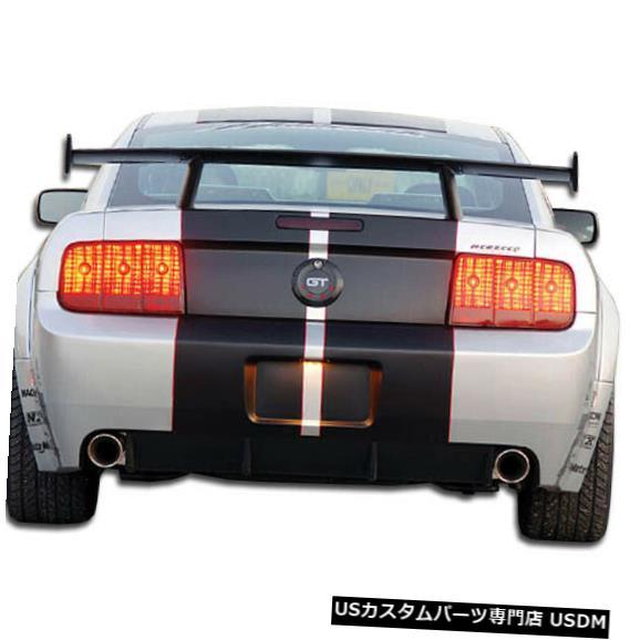 Rear Wide Body Kit Bumper 05-09フォードマスタングGT500 Duraflexリアワイドボディキットバンパー!!! 104911 05-09 Ford Mustang GT500 Duraflex Rear Wide Body Kit Bumper!!! 104911