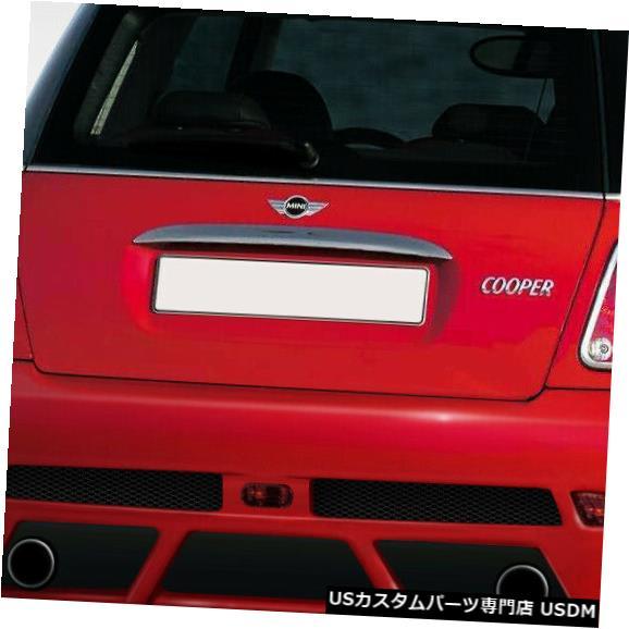 Rear Wide Body Kit Bumper 02-06ミニクーパータイプZデュラフレックスリアワイドボディキットバンパー!!! 108319 02-06 MINI Cooper Type Z Duraflex Rear Wide Body Kit Bumper!!! 108319