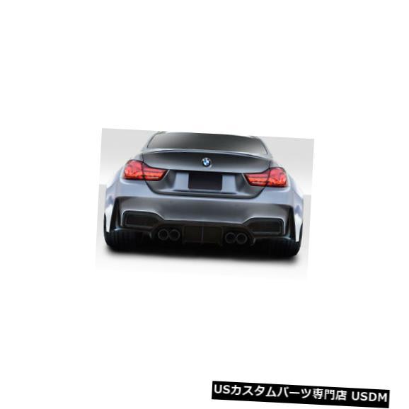 Rear Wide Body Kit Bumper 15-20 BMW M4 AF-1エアロ機能(GFK)ワイドリアボディキットバンパー!!! 115063 15-20 BMW M4 AF-1 Aero Function (GFK) Wide Rear Body Kit Bumper!!! 115063