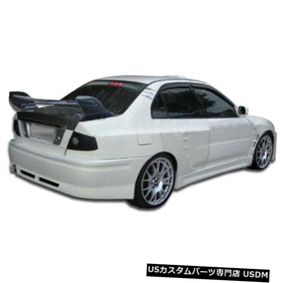 Rear Wide Body Kit Bumper 97-01三菱ミラージュ4DR GT500オーバーストックリアワイドボディキットバンパー!!! 104462 97-01 Mitsubishi Mirage 4DR GT500 Overstock Rear Wide Body Kit Bumper!!! 104462