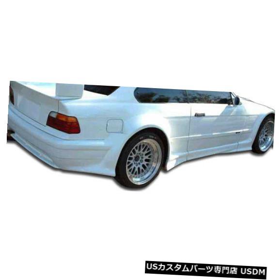 Rear Wide Body Kit Bumper 92-98 BMW 3シリーズ2DR GT500 Duraflexリアワイドボディキットバンパー!!! 105337 92-98 BMW 3 Series 2DR GT500 Duraflex Rear Wide Body Kit Bumper!!! 105337
