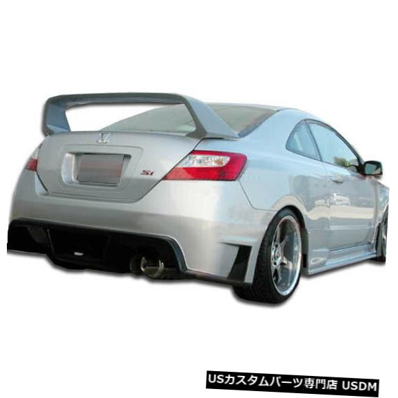 Rear Wide Body Kit Bumper 06-11ホンダシビック2DR GT500デュラフレックスリアワイドボディキットバンパー!!! 105247 06-11 Honda Civic 2DR GT500 Duraflex Rear Wide Body Kit Bumper!!! 105247