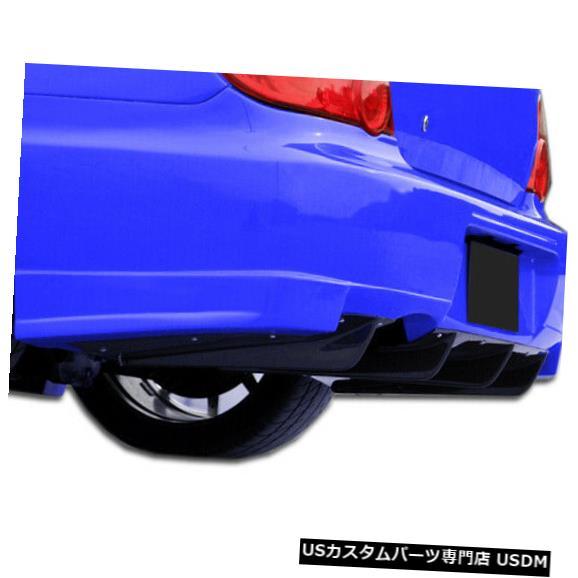 Rear Wide Body Kit Bumper 06-07スバルインプレッサGT500 Duraflexリアバンパーディフューザーワイドボディキット107271 06-07 Subaru Impreza GT500 Duraflex Rear Bumper Diffuser Wide Body Kit 107271