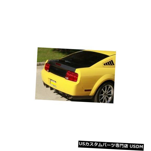 Trunk 05-09フォードマスタングTruFiberカーボンファイバーOEMボディキット-トランク/ハット h !!! TC10024-CS4 05-09 Ford Mustang TruFiber Carbon Fiber OEM Body Kit-Trunk/Hatch!!! TC10024-CS4