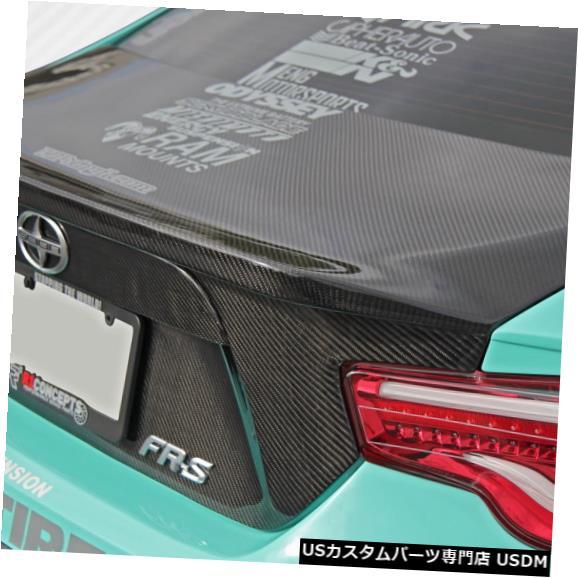 Trunk 13-18 Scion FRS 86-Rカーボンファイバークリエーションズボディキット-トランク/ハット h !!! 109038 13-18 Scion FRS 86-R Carbon Fiber Creations Body Kit-Trunk/Hatch!!! 109038