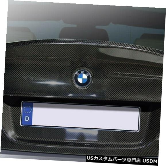 Trunk 06-08 BMW M3 4DR CSL Look DriTechカーボンファイバーボディキット-トランク/ハット h !!! 113142 06-08 BMW M3 4DR CSL Look DriTech Carbon Fiber Body Kit-Trunk/Hatch!!! 113142