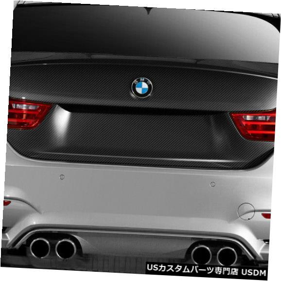 Trunk 14-18 BMW 4シリーズM4ルックDriTechカーボンファイバーボディキット-トランク/ハット h !!! 113150 14-18 BMW 4 Series M4 Look DriTech Carbon Fiber Body Kit-Trunk/Hatch!!! 113150