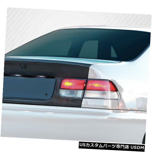 Trunk 96-00ホンダシビック2DR OEMカーボンファイバークリエーションボディキット-トランク/ハット h !!! 106381 96-00 Honda Civic 2DR OEM Carbon Fiber Creations Body Kit-Trunk/Hatch!!! 106381