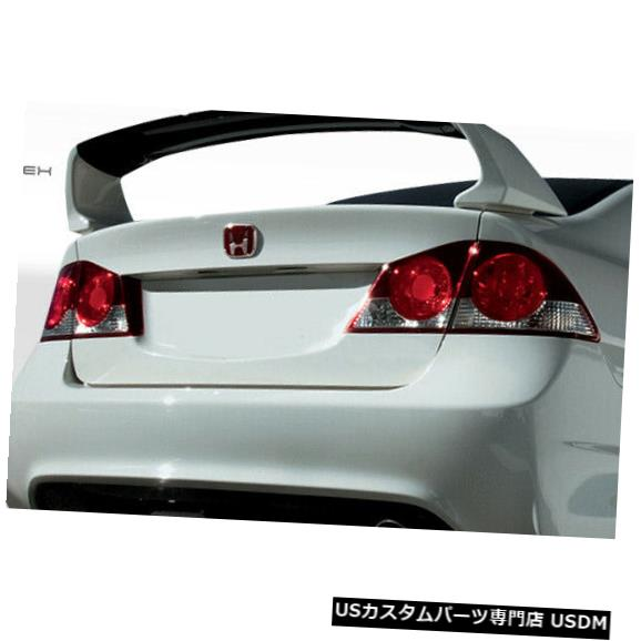 Trunk 06-11ホンダシビック4DR JDMタイプRコンバージョンデュラフレックスボディキット-トランク/ハット h !!! 108064 06-11 Honda Civic 4DR JDM Type R Conv Duraflex Body Kit-Trunk/Hatch!!! 108064