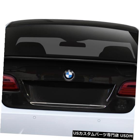 Trunk 07-13 BMW 3シリーズAF-2エアロ機能CFPボディキットトランク/ハッチ109744 07-13 BMW 3 Series AF-2 Aero Function CFP Body Kit Trunk/Hatch 109744
