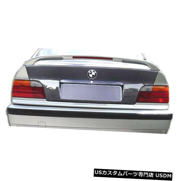 Trunk 92-98 BMW 3シリーズ2DR OEMカーボンファイバークリエーションボディキット-トランク/ハット h !!! 103040 92-98 BMW 3 Series 2DR OEM Carbon Fiber Creations Body Kit-Trunk/Hatch!!! 103040