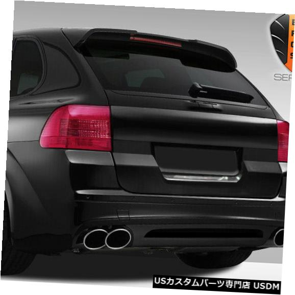 Trunk 03-10ポルシェカイエンエロスV.1デュラフレックスワイドボディトランクキャップ!!! 108275 03-10 Porsche Cayenne Eros V.1 Duraflex Widebody Trunk Cap!!! 108275