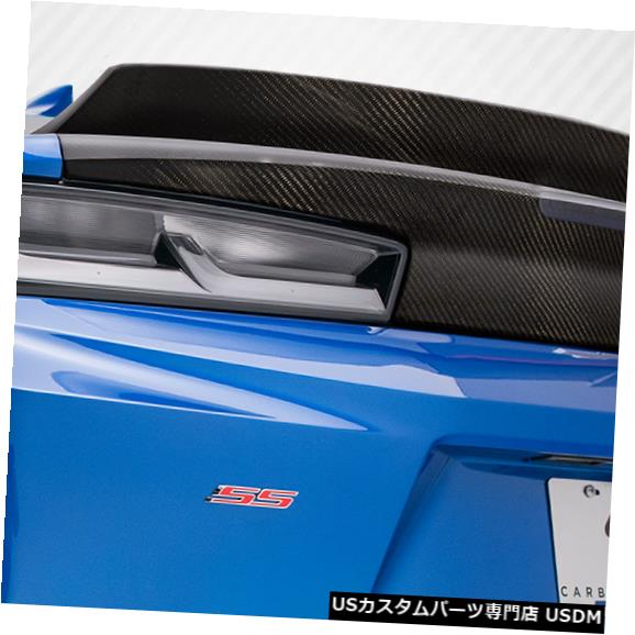 Trunk 16-18シボレーカマロAC-1カーボンファイバークリエーションズボディキット-トランク/ハット h !! 114407 16-18 Chevrolet Camaro AC-1 Carbon Fiber Creations Body Kit-Trunk/Hatch!! 114407