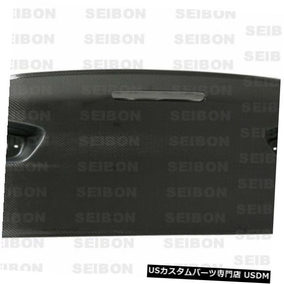Trunk 08-15ミツランサーCSLセイボンカーボンファイバーボディキット-トランク/ハット h TL0809MITEVOX- C 08-15 Mitsu Lancer CSL Seibon Carbon Fiber Body Kit-Trunk/Hatch TL0809MITEVOX-C