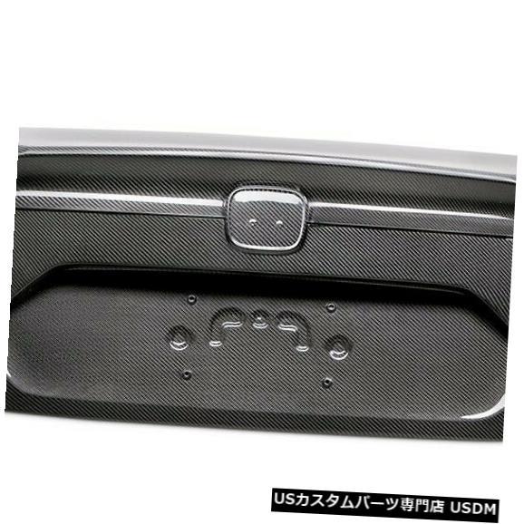Trunk 16-19ホンダシビックOEスタイルセイボンカーボンファイバーボディキット-トランク/ Hatc h !! TL16HDCV4D 16-19 Honda Civic OE-Style Seibon Carbon Fiber Body Kit-Trunk/Hatch!! TL16HDCV4D