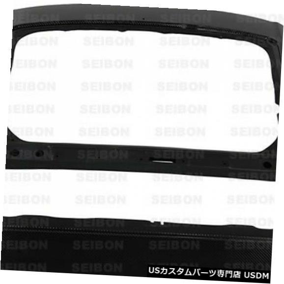 Trunk 11-16ホンダCR-Z OEスタイルセイボンカーボンファイバーボディキット-トランク/ハット h !!! TL1112HDCZ 11-16 Honda CR-Z OE-Style Seibon Carbon Fiber Body Kit-Trunk/Hatch!!! TL1112HDCZ