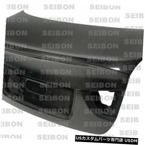 Trunk 09-11 BMW 3シリーズCSLセイボンカーボンファイバーボディキット-トランク/ Hatc h TL0910BMWE90-C 09-11 BMW 3 Series CSL Seibon Carbon Fiber Body Kit-Trunk/Hatch TL0910BMWE90-C