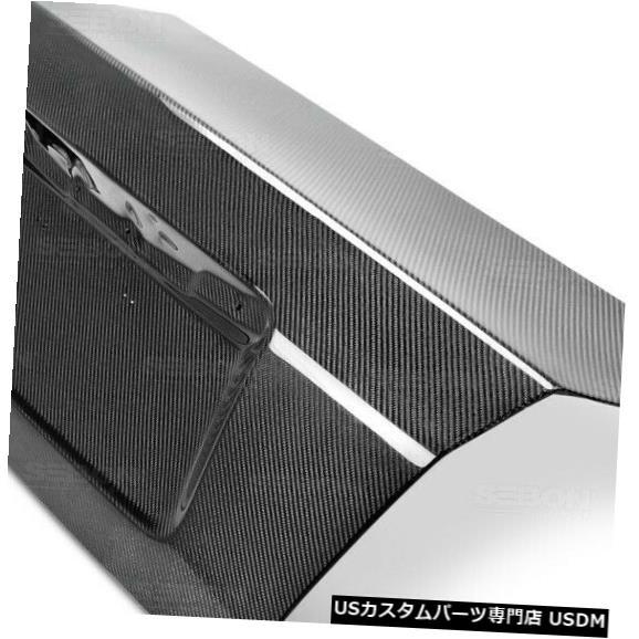 Trunk 08-14スバルインプレッサセイボンカーボンファイバーボディキット-トランクTL0809SBIMP4D- OEに適合 08-14 Fits Subaru Impreza Seibon Carbon Fiber Body Kit-Trunk TL0809SBIMP4D-OE