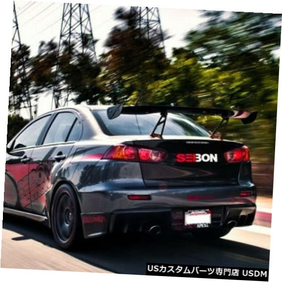 Trunk 08-15三菱ランサーセイボンカーボンファイバーボディキット-トランク/ハット h TL0809MITEVOX 08-15 Mitsubishi Lancer Seibon Carbon Fiber Body Kit-Trunk/Hatch TL0809MITEVOX