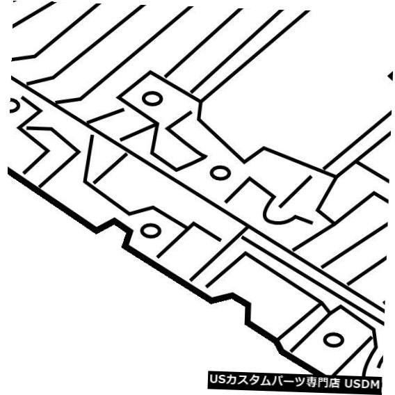 ラジエーターカバー ジープクライスラーOEMスプラッシュシールド-エンジン/ラジエーターカバー68420672AA Jeep CHRYSLER OEM Splash Shields-Under Engine / Radiator Cover 68420672AA