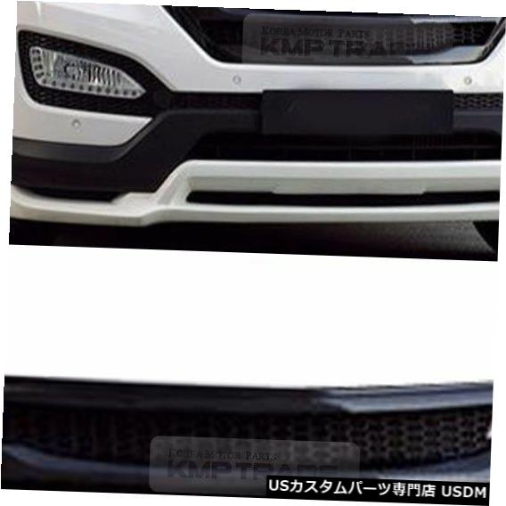 ラジエーターカバー ヒュンダイ2013-2015サンタフェDMのフロントバンパーラジエーターグリルカバー未塗装 Front Bumper Radiator Grille Cover Unpainted for HYUNDAI 2013-2015 Santa Fe DM