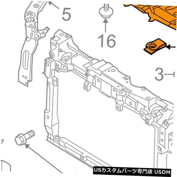 ラジエーターカバー MAZDA OEM 09-12 CX-7 Under Radiator / Engin e-Cover Splash Shield EH4556110 MAZDA OEM 09-12 CX-7 Under Radiator/Engine-Cover Splash Shield EH4556110