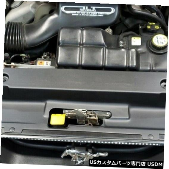 ラジエーターカバー Mustang 1999-2004 Textured Black JLTRSC-FM9904- 2のJLTラジエーターサポートカバー JLT Radiator Support Cover For Mustang 1999-2004 Textured Black JLTRSC-FM9904-2