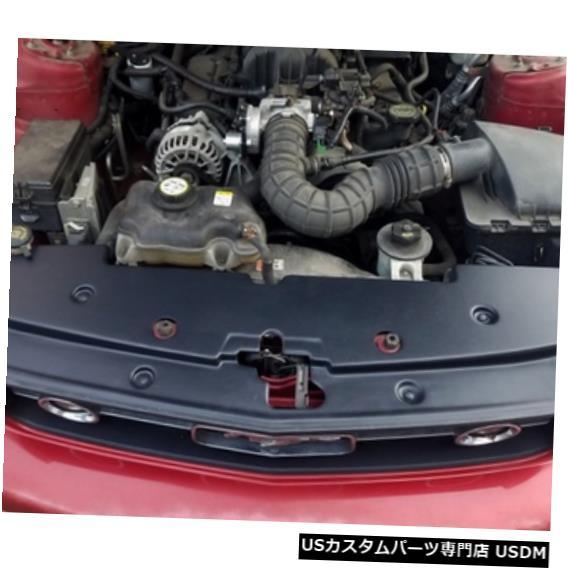 ラジエーターカバー 2005-2009フォードマスタングJLTRSC-FM0509- 2のJLT全長ラジエーターカバー JLT Full Length Radiator Cover for 2005-2009 Ford Mustang JLTRSC-FM0509-2