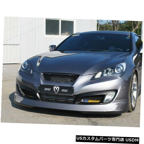 ラジエーターカバー M&S Radiator Sport Mesh Grille & Top Cover For 09-2012 Hyundai Genesis Coupe