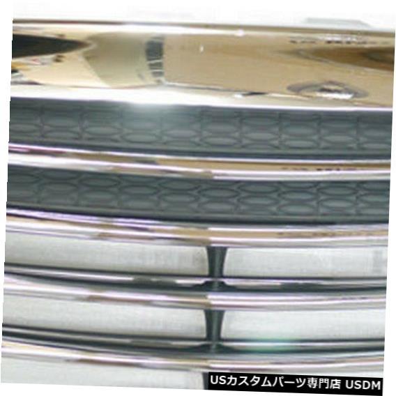 ラジエーターカバー ヒュンダイ2010-2013ツーソンix / ix35のバンパーラジエーターフードグリルクロームカバー Bumper Radiator Hood Grille Chrome Cover for HYUNDAI 2010-2013 Tucson ix / ix35