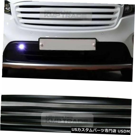 ラジエーターカバー KIA 2015 2017ソレントUMフロントフードラジエーターチューニンググリルカバーブラックペイント For KIA 2015 2017 Sorento UM Front Hood Radiator Tuning Grille Cover Black paint