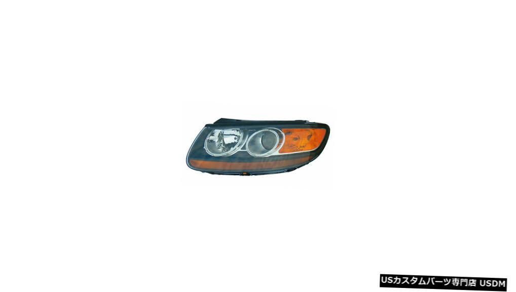ヘッドライト 2007-2009ヒュンダイサンタフェドライバー左側ヘッドライトランプアセンブリに適合 Fits 2007-2009 Hyundai Santa Fe Driver Left Side Headlight Lamp Assembly