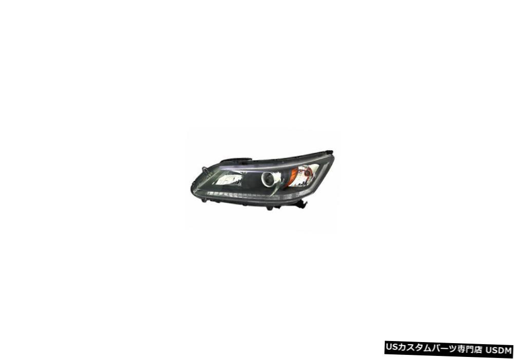 ヘッドライト 13-15ホンダアコードセダンハロゲン左ドライバーヘッドライトヘッドランプNSF 13-15 Honda Accord Sedan Halogen Left Driver Headlight Headlamp NSF