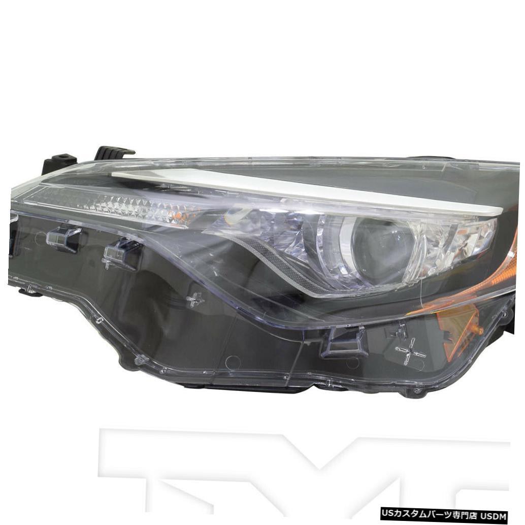車用品 バイク用品 >> 新商品 パーツ ライト ランプ ヘッドライト 17-19トヨタカローラL LE LEエコw LED DRL左ドライバーヘッドライトNSF Driver 17-19 L w Corolla いつでも送料無料 Eco NSF Headlight DRL Toyota Left