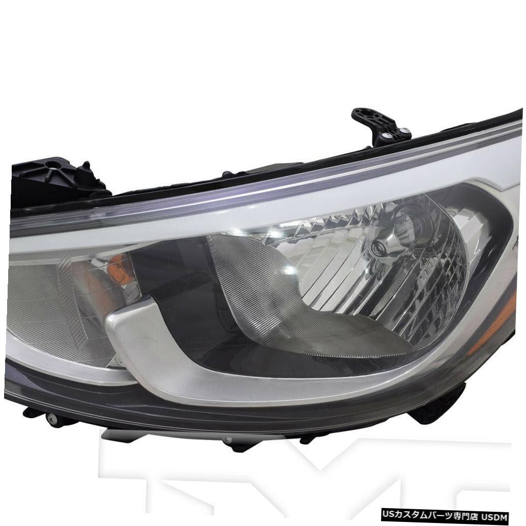 ヘッドライト 15?17ヒュンダイアクセント標準左ドライバーヘッドライトヘッドランプNSFに適合 Fits 15-17 Hyundai Accent Standard Left Driver Headlight Headlamp NSF