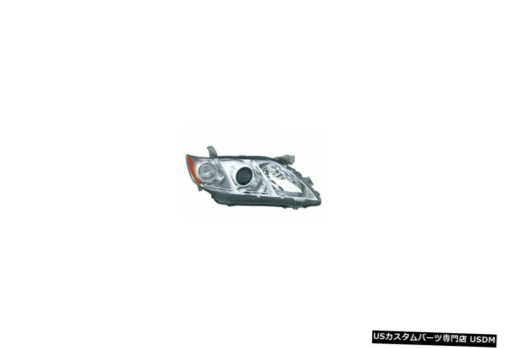 ヘッドライト 07-08トヨタカムリLE / XLEヘッドライトユニット助手席側 07-08 Toyota Camry LE/XLE Headlight Unit Passenger Side