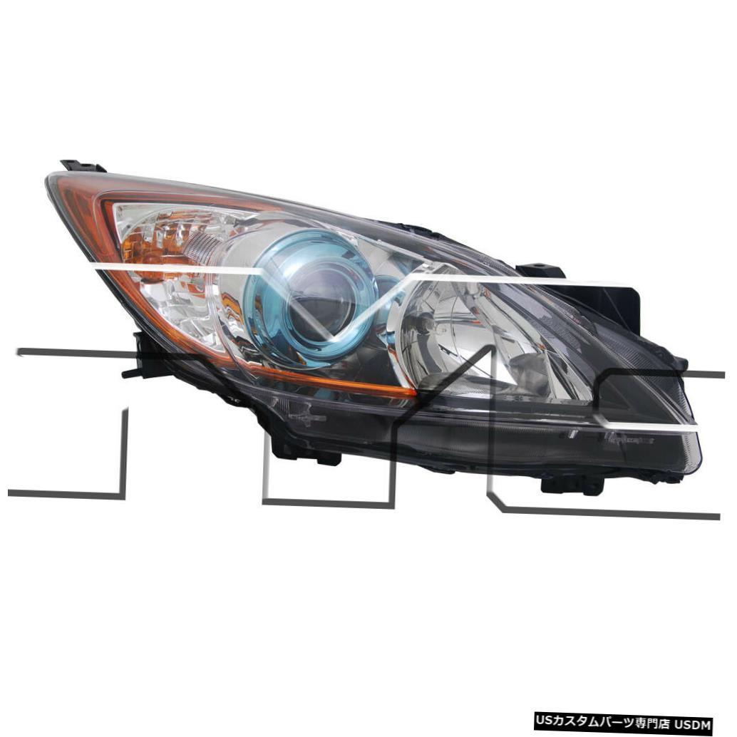 ヘッドライト 12-13マツダ-3ハロゲン旅客ヘッドライトに適合 Fits 12-13 Mazda-3 Halogen Passenger Headlight