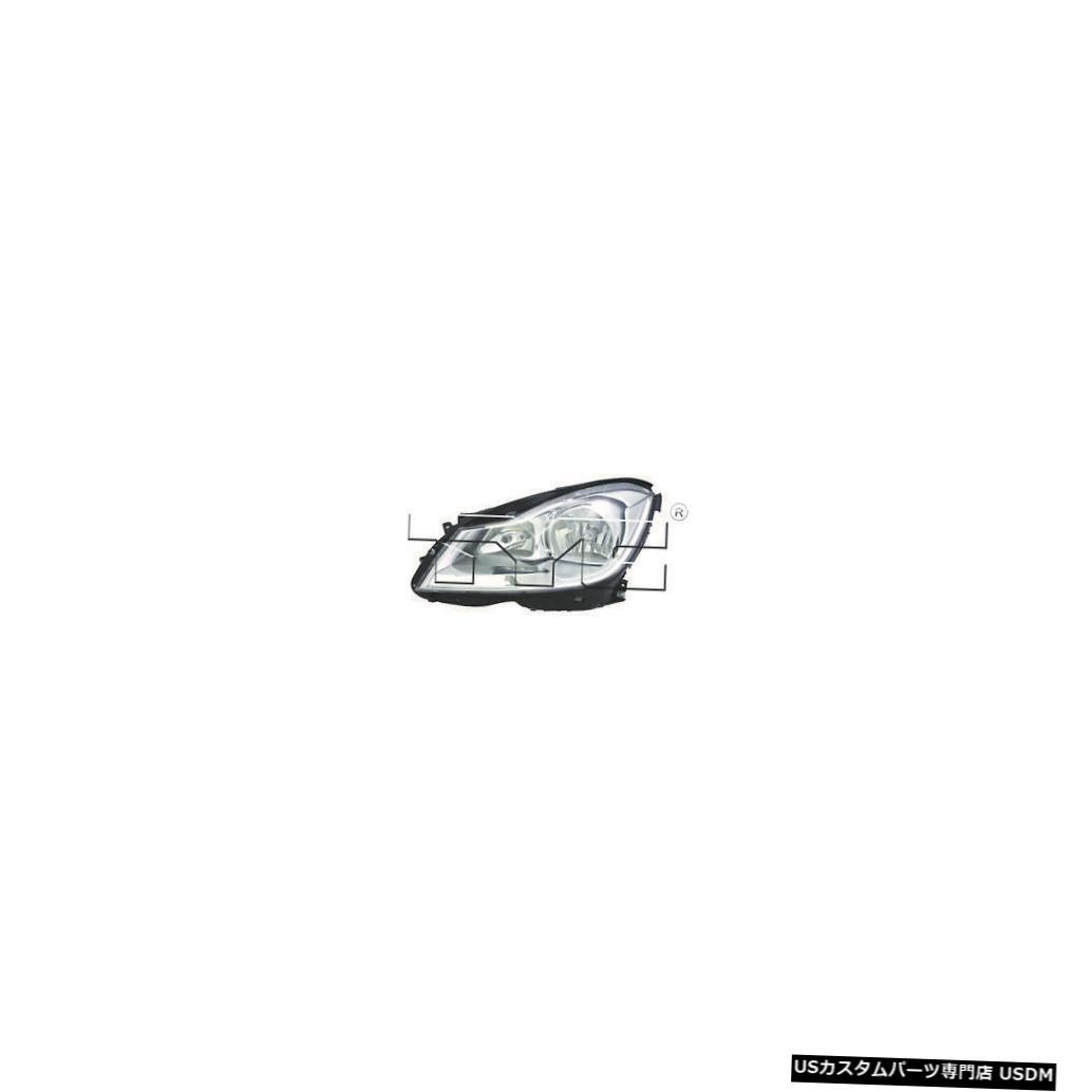 ヘッドライト 12-14メルセデスベンツCクラスセダン(コーナリングランプなし)ドライバーヘッドライトCAPA 12-14 Mercedes Benz C-Class Sedan w/o Cornering Lamps Driver Headlight CAPA