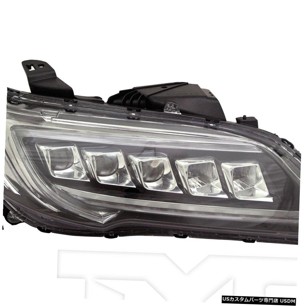 ヘッドライト 16-18 Acura RDX LEDヘッドライトフロントランプ助手席右側 16-18 Acura RDX LED Headlight Front Lamp Passenger Right Side