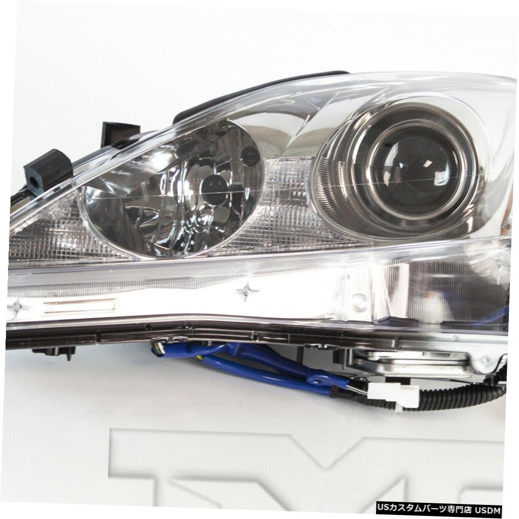 ヘッドライト 09-10レクサスIS250 / 350 HID w / AFS左ドライバーヘッドライトヘッドランプNSF 09-10 Lexus IS250/350 HID w/AFS Left Driver Headlight Headlamp NSF