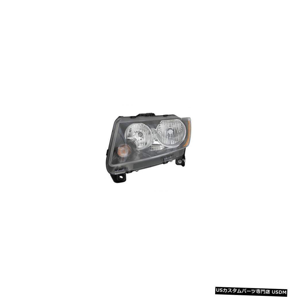 ヘッドライト 2013-2014年ジープコンパスドライバー左側ヘッドライトランプアセンブリ 2013-2014 Jeep Compass Driver Left Side Headlight Lamp Assembly