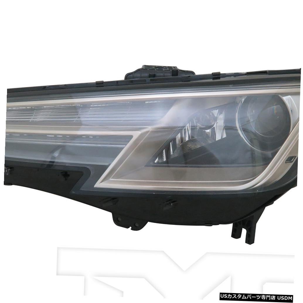 ヘッドライト 17-19アウディA4 / S4 HIDヘッドライトアセンブリフロントランプドライバー左側 17-19 Audi A4/S4 HID Headlight Assembly Front Lamp Driver Left Side