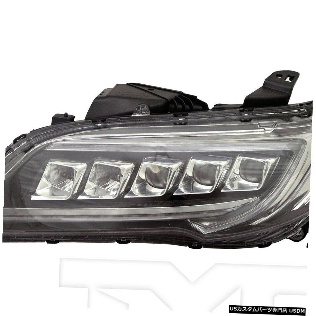 ヘッドライト 16-18 Acura RDX LED左ドライバーヘッドライトヘッドランプNSF 16-18 Acura RDX LED Left Driver Headlight Headlamp NSF