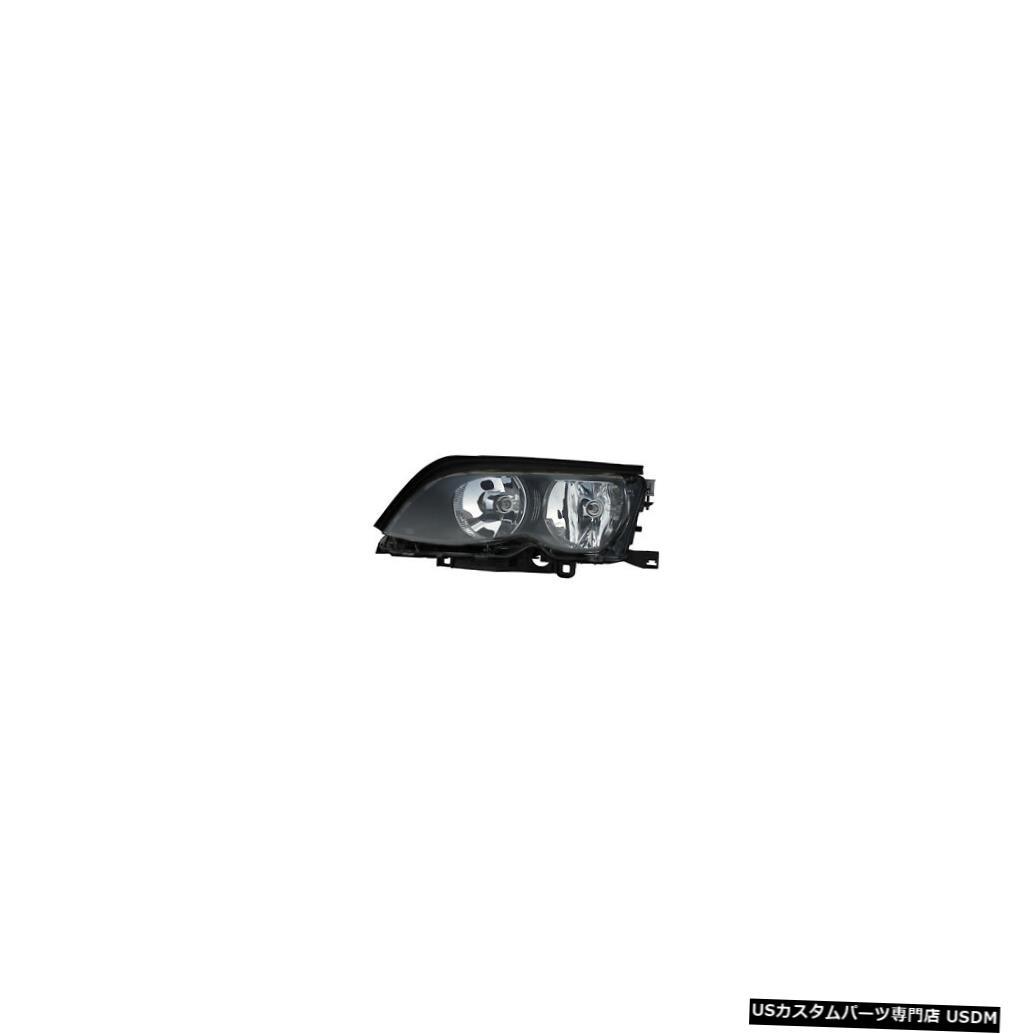 ヘッドライト 02-05 BMW 3シリーズE46 4ドア/ワゴンドライバーサイド(ハロゲン)ヘッドライト 02-05 BMW 3-Series E46 4-Door/Wagon Driver Side (Halogen) Headlight