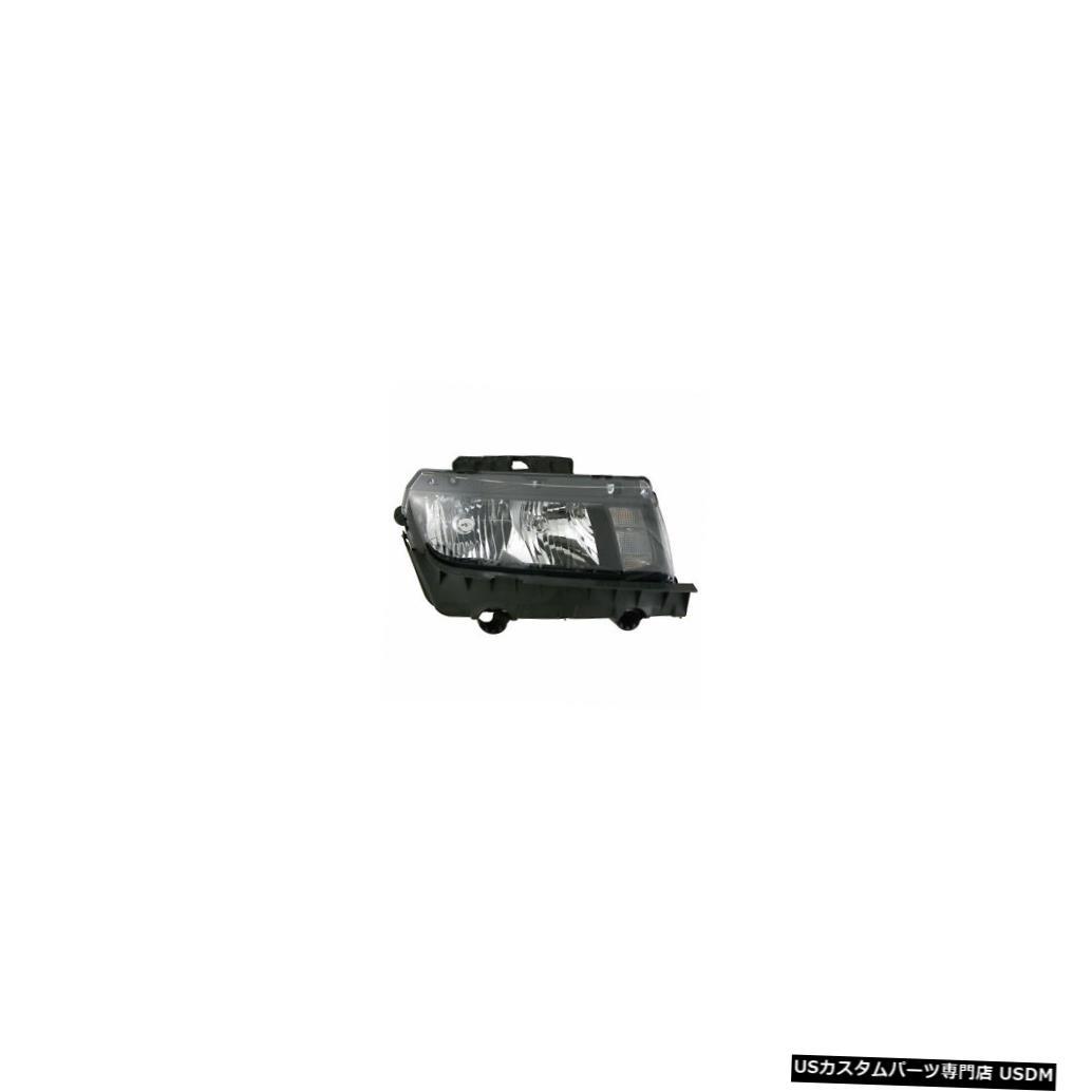 ヘッドライト 2014-2015シボレーカマロ乗客右側ハロゲンヘッドライトランプアセンブリ 2014-2015 Chevrolet Camaro Passenger Right Side Halogen Headlight Lamp Assembly