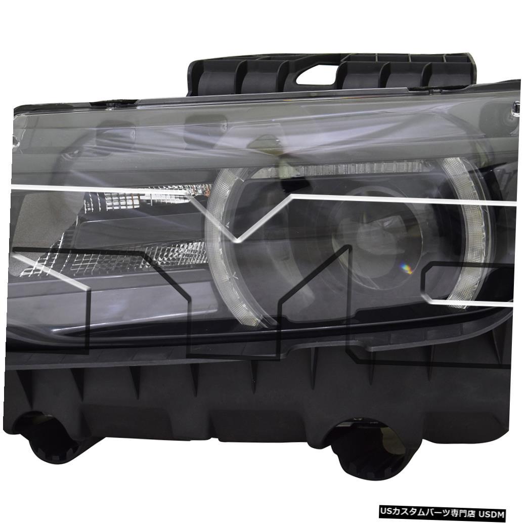 ヘッドライト 14-15シボレーカマロLT / SS / RS HIDヘッドライトアセンブリフロントランプドライバー左側 14-15 Chevy Camaro LT/SS/RS HID Headlight Assembly Front Lamp Driver Left Side