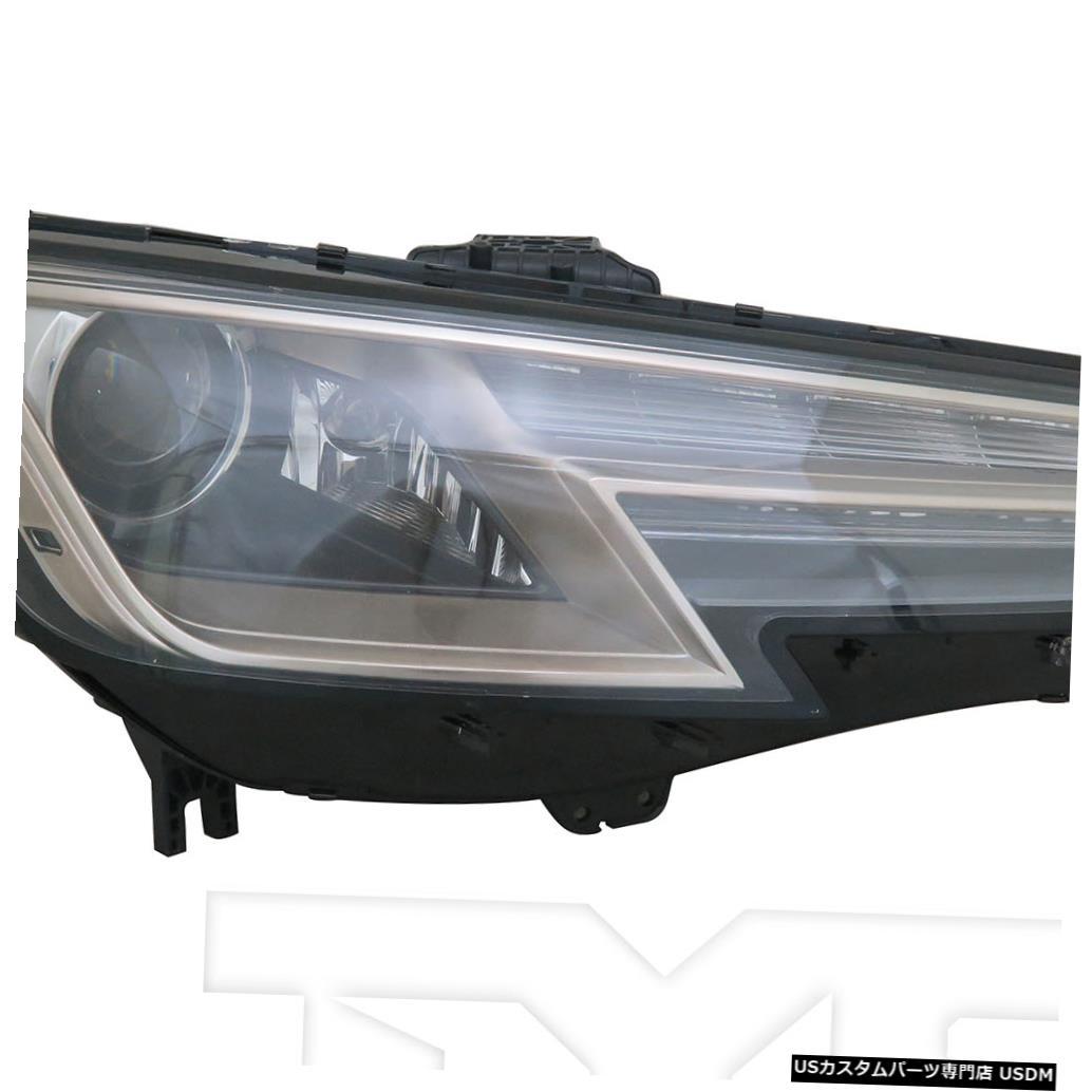 ヘッドライト 17-19アウディA4 / S4 HIDヘッドライトアセンブリフロントランプ助手席右側 17-19 Audi A4/S4 HID Headlight Assembly Front Lamp Passenger Right Side